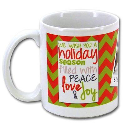 Our printing process offers great idea for Christmas, birthdays, holidays, and other special occasions. Personalized coffee mugs can feature pictures, texts, and designs!