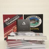 Perfect bound, saddle stitched, and spiral bound booklets. High quality full color booklet printing with custom sizes, papers, binding, and coating that will really make your booklet stand out.