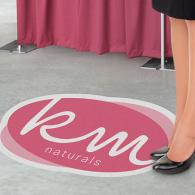 We can print a custom vinyl floor decal or graphic for your retail store or business location that is perfect for in-store advertising and promotions. Grip textures are also available.