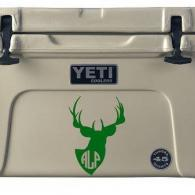 Vinyl decals are a perfect way to mark your Yeti coolers and more with your company logo.